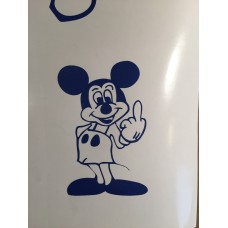 Mickey giving Finger