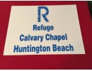 REFUGE LOT SIGN