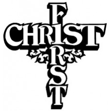 Christ First cross