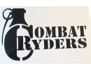 combat Ryders Windshield Logo