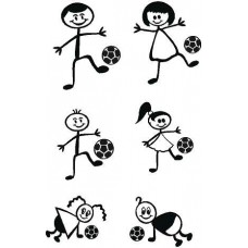 Soccer Stick Family