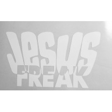 JESUS Freak sticker